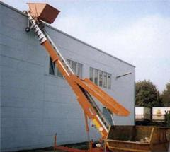 Bocker HD-22 (72') Construction Hoist