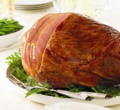 Whole, Fully Cooked, Hickory Smoked Ham