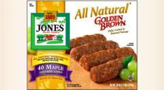 All Natural Golden Brown Maple Pork Sausage Links,