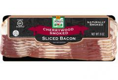 Bacon, Sliced, Regular, Cherry Hardwood Smoked, 8