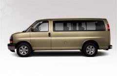 "2012 GMC Savana Passenger RWD 1500 135"""