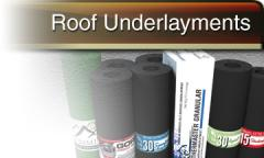 Roof Underlayment Products