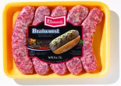 Fresh Bratwurst (bulk)