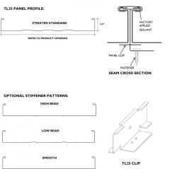 Tee-Lock TL25 is a structural panel
