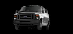 2013 Ford E-Series Cargo Van E-350 Commercial