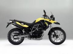 BMW F650GS Motorcycle