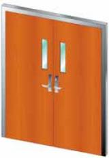 USWD 2000 - Bullet Resistant Wood Door (Single or