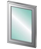 USAW 200 - Operable Interior Aluminum Window