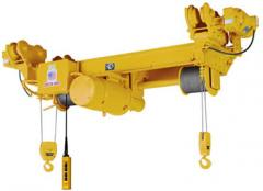 Monorail Wire Rope Hoists