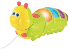Pull Along Music & Lights Caterpillar