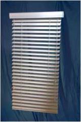 Fauxwood blinds