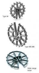 Rebar wheels
