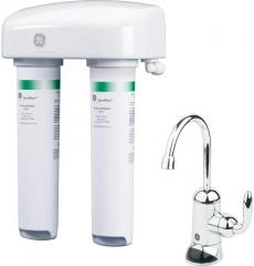GE® Twist and Lock Under Counter Dual Stage Water