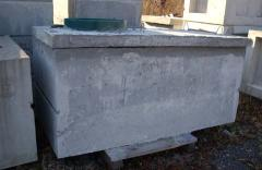 Single Compartment 250 Gallon Water Tank with