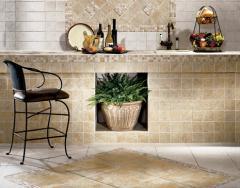 Glazed Porcelain Floor & Ceramic Tile