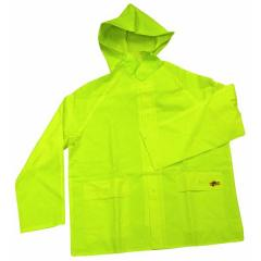Large 35mm 3pc Green Rainsuit
