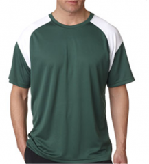 Dry Sport Color Block Performance Tee