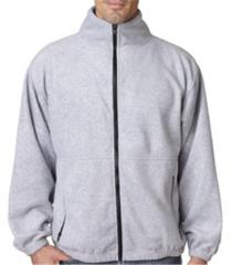 Polyester Adult Iceberg Fleece Full-Zip Jacket