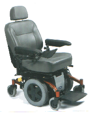 Power Wheelchair Invacare TDX SI-2