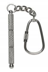 Silver Key Chain Screwdriver