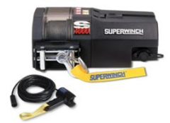 Trailer Winch - 4,000#, 12 volt (SuperWinch)