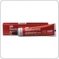 Adhesive auto wheather strip Yellow 5 oz 08001