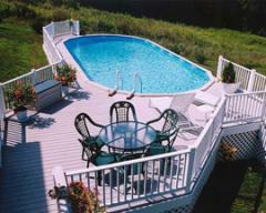 The Above Ground Pool with the In Ground Look