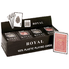 Royal boxed set of poker
