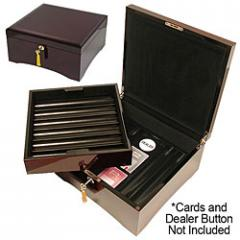 Laquer Finish Poker Chip Case