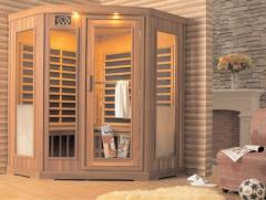 Premium IG-580-BH Sauna by Saunatec