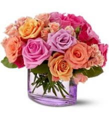 Teleflora's Rose Harmony Bouquet TFWEB130