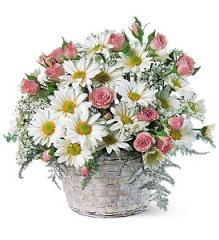 Posy Flower Basket TF48-3