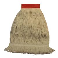 Sewn band loop mops