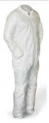 Coverall, Polypropylene, Disposable - Large