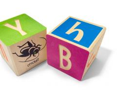 Bugs ABC Replacement Blocks