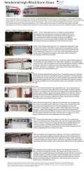 Residential High-Wind/Storm doors