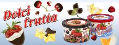 Dolci frutta... The Original Hard Chocolate Shell