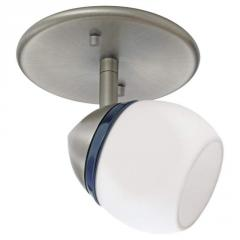 Nickel Directional Flush Mount