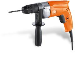 Fast single-speed power drill with 1/4 in drilling
