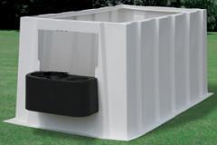 PolyDome Convertible Indoor Calf Nursery