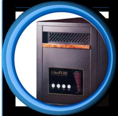 EdenPURE™ Quartz Infrared Portable Heaters