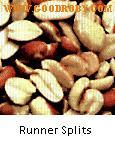 Argentinian Raw Split Peanut, Groundnut kernels,