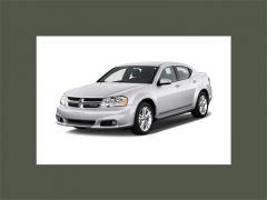 2012 Dodge Avenger SXT Sedan Vehicle