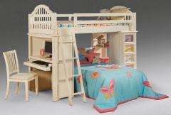 Twin Loft Bed Rainbow Collection