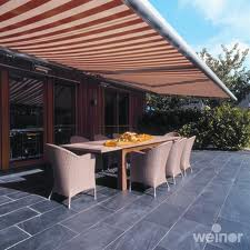 Outdoor Retractable Awnings, Fabric Awnings and