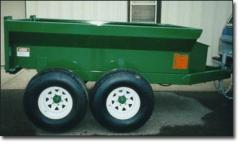 Dump Trailers & Large Carts