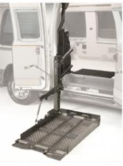 Tri-Folding Platform for Ambulatory Access Lift
