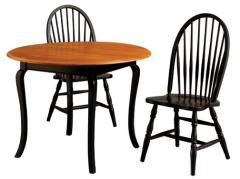 Round Table With Wood Legs