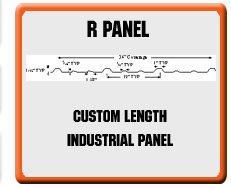 R-Panel Roofing Products