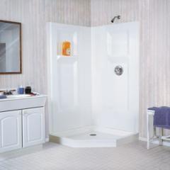 Fiberglass Neo-Angle/Corner Shower Walls,